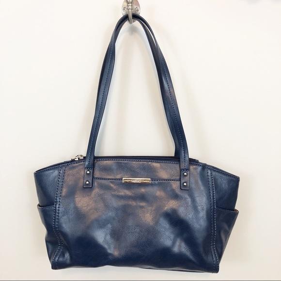 Relic Handbags - Relic by Fossil navy blue vegan leather handbag